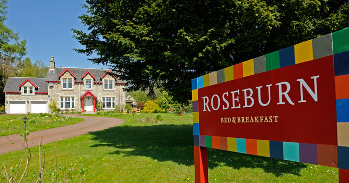 Roseburn Bed & Breakfast - Pitlochry